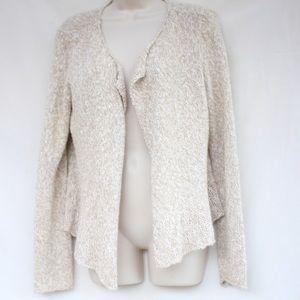 Beige Knit Sweater Eileen Fisher Small